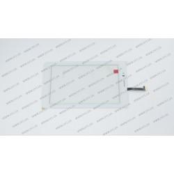 Тачскрин (сенсорное стекло) 070583-01a-v3, 7, внешний размер 183*109 мм, рабочий размер 155*91 мм, 39 pin, белый
