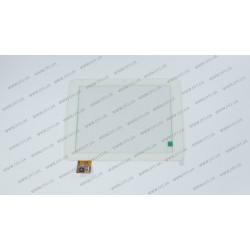 Тачскрин (сенсорное стекло) 080075-01A-1-V1, 8, внешний размер 197*150 мм, рабочий размер 163*123 мм, белый
