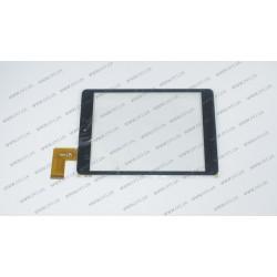 Тачскрин (сенсорное стекло)  XF20141105, 7,85, внешний размер 197x131 мм, 36 pin, черный