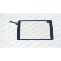 Тачскрин (сенсорное стекло) 80701-0D5502A, 8, внешний размер 206*120 мм, 6 pin, черный