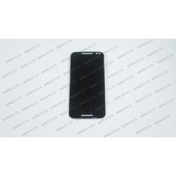 Модуль матрица + тачскрин  для Motorola XT1572 Moto X Style, black