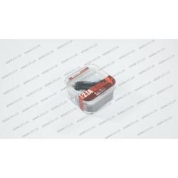 Автомобильное зарядное устройство REMAX RCC-201 mini , 2USB 2.1A , черный