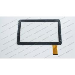 Тачскрин (сенсорное стекло) RP-328A-10.1-FPC-A3, 10,1, внешний размер 257*160 мм, рабочая часть 224*127 мм, черный