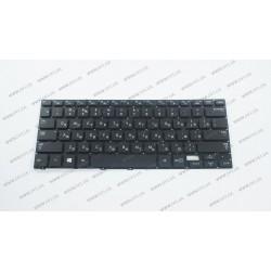 Клавиатура для ноутбука SAMSUNG (NP740U3E series) rus, black, без фрейма, подсветка клавиш