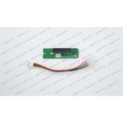 Адаптер M2-PCI-e x4 (переходник с M.2 --> PCI-e x1, питание адаптера от FDD, майнинг)
