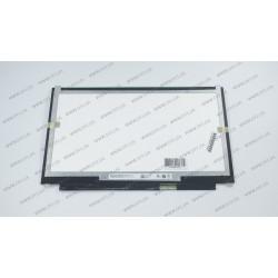 Матрица 13.3 B133HAB01.0 (1920*1080, 40pin(eDP), LED, SLIM(вертикальные ушки), глянец, разъем справа внизу) для ноутбука