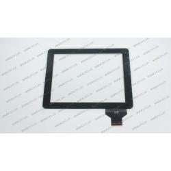 Тачскрин (сенсорное стекло) для Chuwi v99, TPC-50146-V1.0, 9,7, внешний размер 236х183 мм, рабочий размер 197*148 мм, черный