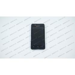 Модуль матрица+тачскрин для Lenovo A319 Music 3G, black