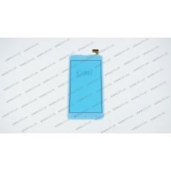Тачскрин (сенсорное стекло) FPC-60B2-V02 (Версия 1, см фото), 6, внешний размер 165*85 мм, рабочий размер 132*74 мм, 30 pin, белый