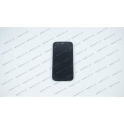 Модуль матрица + тачскрин  для Motorola Moto G Black UACRF, black