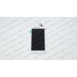 Модуль матрица+тачскрин для Lenovo C2 Power , white