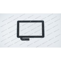 Тачскрин (сенсорное стекло) 7087-02, 7, внешний размер 185*118 мм, 30 pin, черный