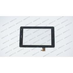 Тачскрин (сенсорное стекло) 070379-01A-V1, 7, внешний размер 190*118 мм, 6pin, черный