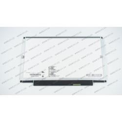 Матрица 13.3 N133BGE-L41 (1366*768, 40pin, LED, SLIM (горизонтальные планки), глянцевая, разъем справа внизу) для ноутбука