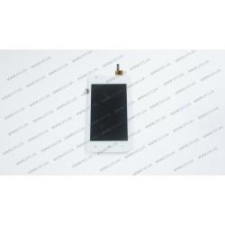 Модуль матрица+тачскрин для Lenovo A1000,white
