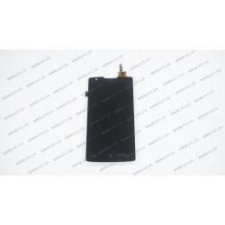Модуль матрица+тачскрин для Lenovo A1000, black