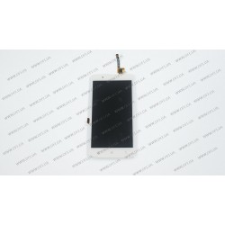 Модуль матрица+тачскрин для Lenovo A2010, white