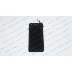 Модуль матрица+тачскрин для Lenovo C2 Power , black