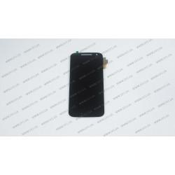 Модуль матрица + тачскрин для Motorola MOTO G4, black