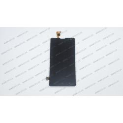 Модуль матрица + тачскрин для Huawei Honor 3C (H30-U10), black