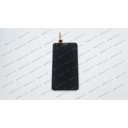 Модуль матрица + тачскрин для Huawei Ascend G750, Honor 3X, black