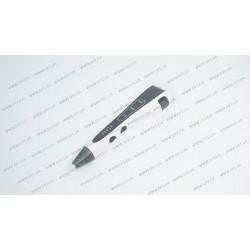 3D ручка DFI модель G8H (пластиковый корпус, сопло 0.7мм, ABS, PCL, PLA пластик 1.75мм, лед индикаторы режима работы, 3 режима скорости подачи пластика, вес 48 грамм), цвет белый