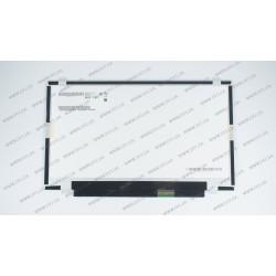 Матрица 14.0 B140RW02 V.1 (1600*900, 40pin, LED, SLIM (вертикальные ушки), матовая, разъем справа внизу) для ноутбука