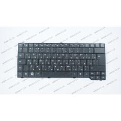 Клавиатура для ноутбука FUJITSU (AM: Pa3515, Pa3553, P5710, Pi3650, Li3710, ES: D9510, V6505, V6545, X9510) rus, black (15.4)