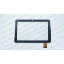 Тачскрин (сенсорное стекло) для Bravis NP 103, FM102001KA, 10,1, внешний размер 254*167 мм, рабочий размер 218*137 мм, 50 pin, черный