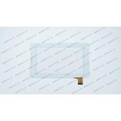 Тачскрин (сенсорное стекло) для Soulycin S18, DH HN86-002 FHX, 7, внешний размер 186*111мм, рабочая часть 155*86мм, 30 рin, белый