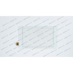 Тачскрин (сенсорное стекло) для Explay Surfer 7.03, DY-F-07027-V4, 7, размер 186x109 мм, 6 pin, белый