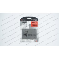 Жесткий диск 2.5 Kingston SSD UV500 Series 120Gb, SUV500/120G, (Marvell 88SS1074 Controller), 3D TLC, SATA-III 6Gb/s Rev3.0, зап/чт. - 320/520мб/с