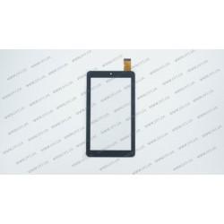 Тачскрин (сенсорное стекло) JNS-36-02, 7, внешний размер 184*104 мм, рабочий размер 156*88 мм, 30pin, черный