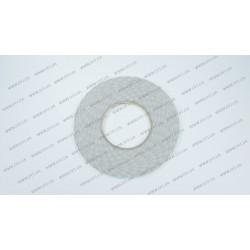 Скотч двухсторонний прозрачный 3M, белый, ширина 3мм, толщина 0,15 мм, длина - 50 метров (ОРИГИНАЛ)