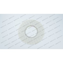 Скотч двухсторонний прозрачный 3M, белый, ширина 2мм, толщина 0,15 мм, длина - 50 метров (ОРИГИНАЛ)
