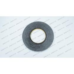 Скотч двухсторонний 3M, черный, ширина 5мм, толщина 0,15 мм, длина - 50 метров (ОРИГИНАЛ)