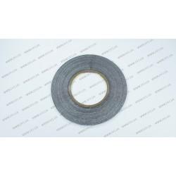 Скотч двухсторонний 3M, черный, ширина 3мм, толщина 0,15 мм, длина - 50 метров (ОРИГИНАЛ)