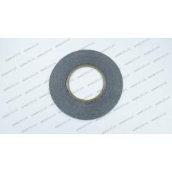 Скотч двухсторонний 3M, черный, ширина 2мм, толщина 0,15 мм, длина - 50 метров (ОРИГИНАЛ)