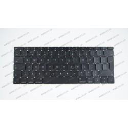 Клавиатура для ноутбука APPLE (MacBook Pro Retina: A1534 (2015)) eng, black, BIG Enter (ОРИГИНАЛ)