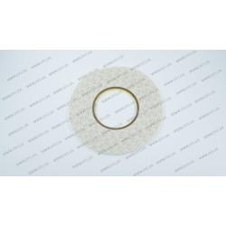 Скотч двухсторонний прозрачный 3M, белый, ширина 4мм, толщина 0,15 мм, длина - 50 метров (ОРИГИНАЛ)