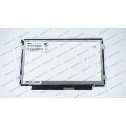 Матрица 10.1 M101NWN8 R0 (1366*768, 40pin, LED, SLIM(горизонтальные ушки), матовая,  разъем справа внизу, W=323) для ноутбука
