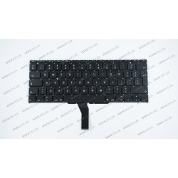Клавиатура для ноутбука APPLE (MacBook Air: A1370, A1465 (2011-2015)) eng, black, BIG Enter