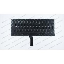 Клавиатура для ноутбука APPLE (MacBook Air: A1369, A1466 (2011-2017)) eng, black, BIG Enter