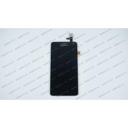 Модуль матрица + тачскрин для Lenovo S660, black