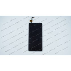 Модуль (дисплей + сенсор) Lenovo A6000, A6010 K3 (K30-T), K3 (K30-W), black