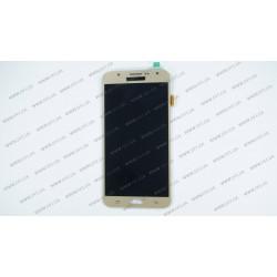Модуль матрица + тачскрин  для Samsung Galaxy J7(J700H/DS, J700F/DS, J700M/DS), golden  (TFT)