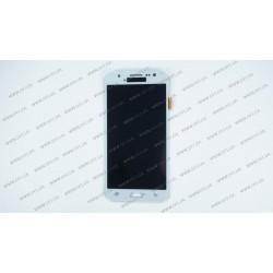 Модуль матрица + тачскрин  для Samsung Galaxy J5 (J500H/DS, J500F/DS, J500M/DS), white (TFT)
