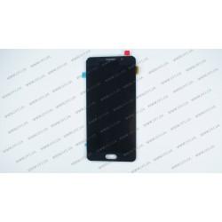 Модуль матрица + тачскрин  для Samsung Galaxy A7 2016 (A710F, A710FD, A710M, A710Y), black (OLED)