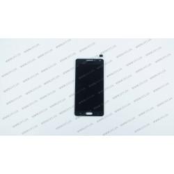 Модуль матрица + тачскрин  для Samsung Galaxy A5 (A500F, A500FU, A500H), black (TFT)