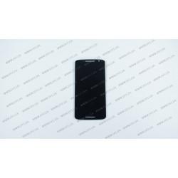 Модуль матрица + тачскрин  для Motorola XT1562 Moto X Play, black